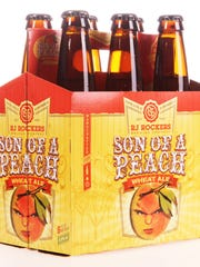 RJ Rockers Son of a Peach is a great local beer to drink this summer.