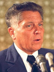 Jimmy Hoffa in Washington, June 3, 1974.