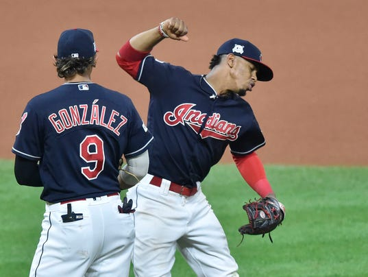 USP MLB: ALDS-NEW YORK YANKEES AT CLEVELAND INDIAN S BBA CLE NYY USA OH