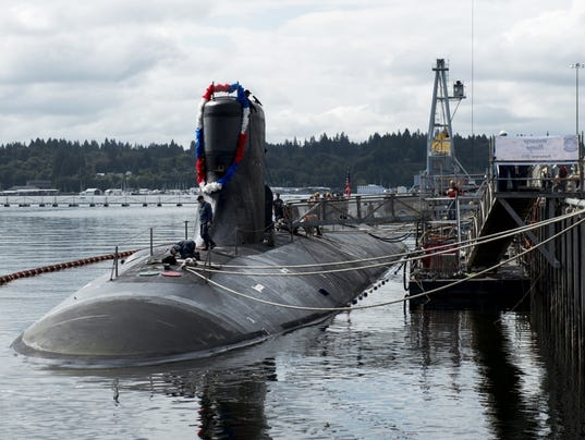 USS Seawolf returns to Bremerton