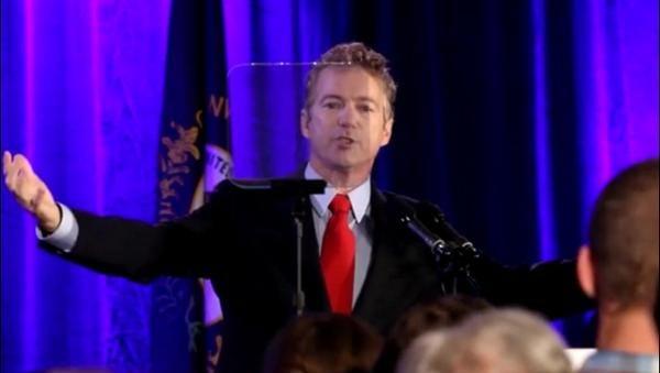 Kentucky Sen. Rand Paul in Louisville, Nov. 4, 2014.