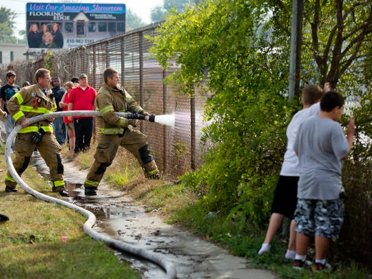 The Lansing Fired Department lifted its recreational burning ban on Friday, July 15, 2016.