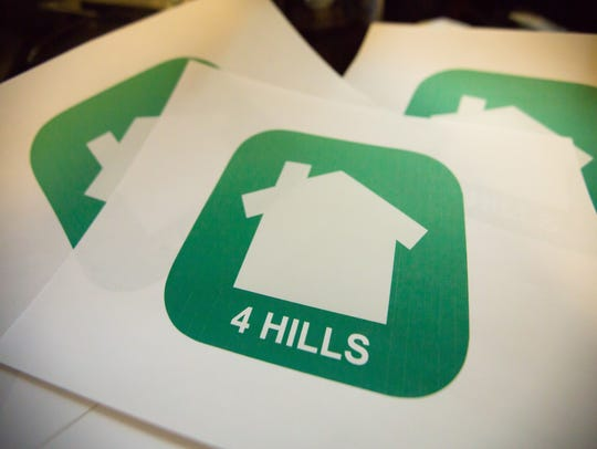 Mary Armstrong's logo for Nextdoor Four Hills curbside