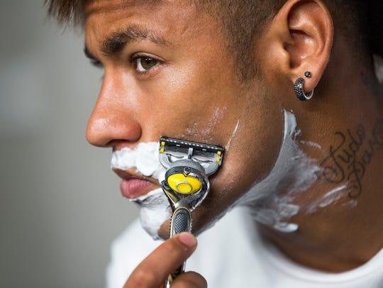 Brazilian soccer star Neymar Jr. is featured in P&G's
