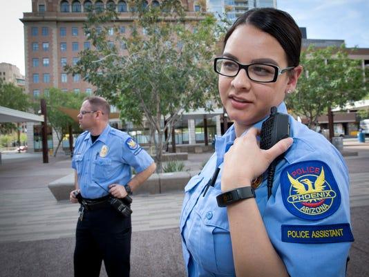 Phoenix police assistants