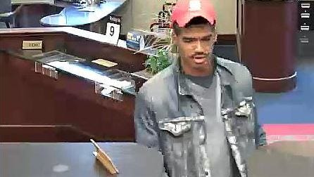 Capital One Bank robbery suspect.