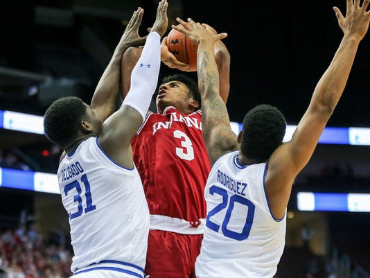 NCAA Basketball: Indiana at Seton Hall