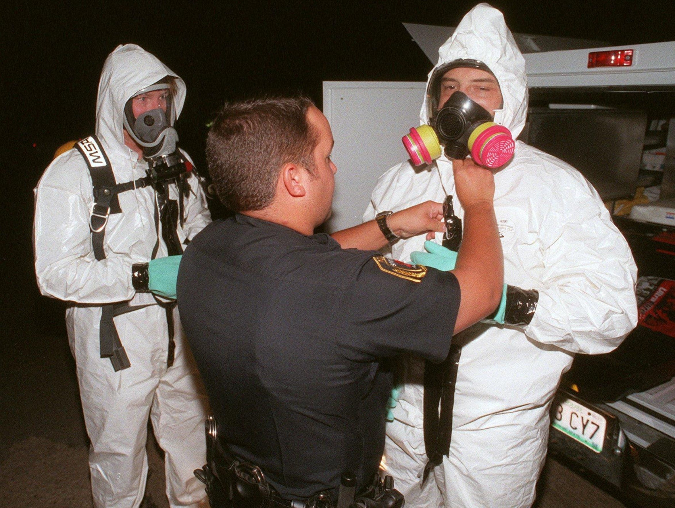 In this 1998 photo, Drug Enforcement Administration