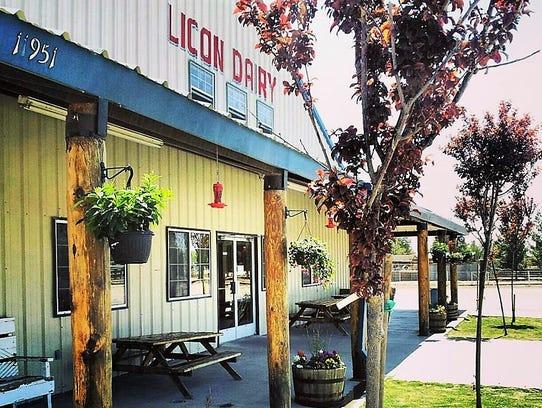 The Licon Dairy store in San Elizario in El Paso County's