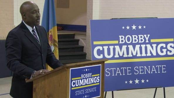 Former Wilmington Police Chief, Bobby Cummings, announced
