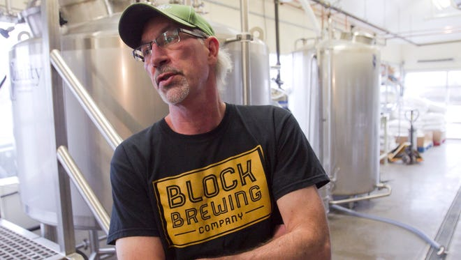 Block Brewing Co. brewer Tom Block has had a broad background in the art of making beer, and is happy to be doing his craft in his hometown of Howell. Block Brewing Co. will open Wednesday.