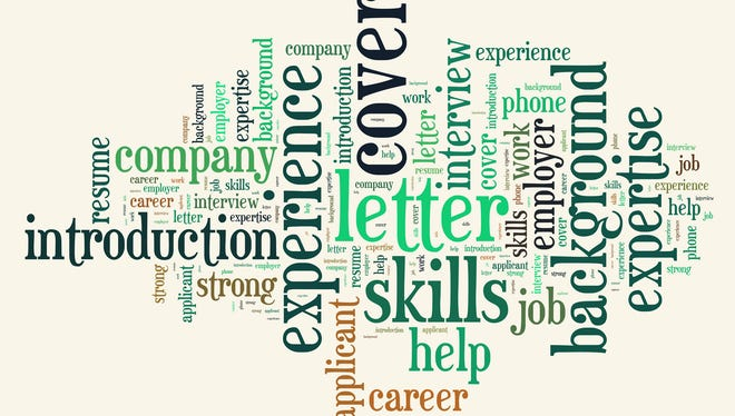 Think about the words in this tag cloud from tagxedo.com as you write your cover letter.