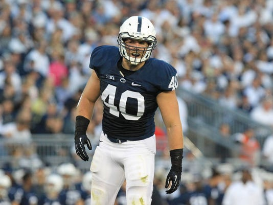 NCAA Football: Central Florida at Penn State