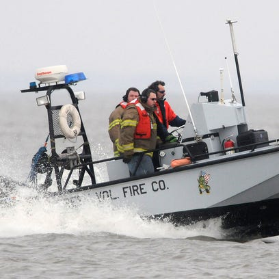 Little Creek, Bowers fire companies poised for water rescues during Dover air show