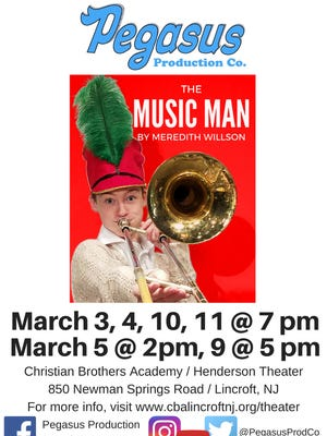 """""""The Music Man"""" Poster"""