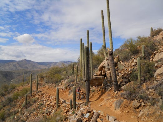 Black Canyon Trail is open to hikers, bikers and equestrians