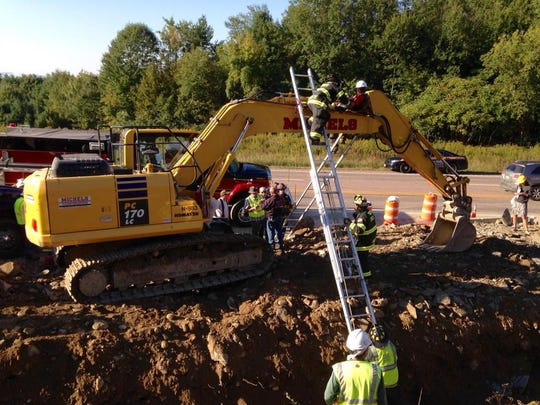 Protesters shut down a Vermont Gas pipeline work site