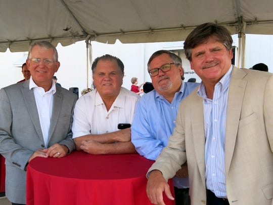 The Pou boys at Launch Party: Dr. David, John, Bill