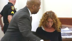 Tonya Couch, the mother of Ethan Couch, as she arrived