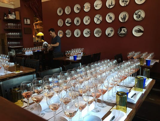 Wine tasting at FnB