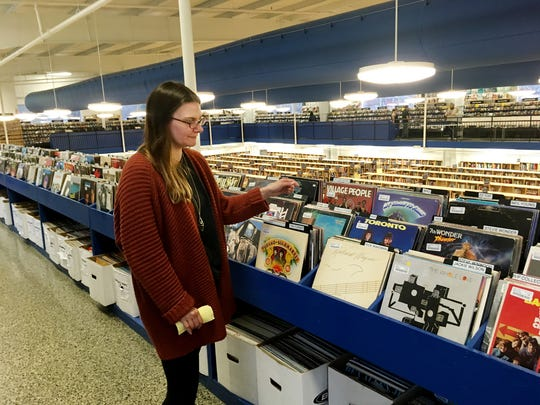 Andrea Jacobson, who oversees the Nashville McKay's Books, Music, Movies and Games, says the store's inventory of vinyl has increased dramatically over the years.