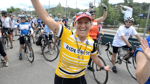 Laurey Masterton, an Asheville chef and activist who died from cancer last year, started the JOYride to benefit LIVESTRONG at the YMCA. The fundraising bike ride is Sept 12 at Fletcher YMCA.