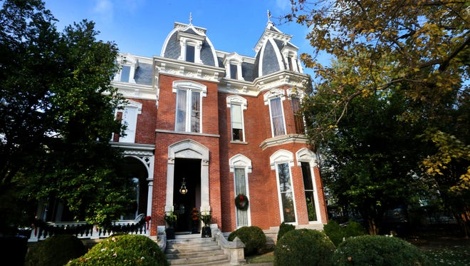 The Collier-Crichlow Smythe home on the corner of East Main Street and Highland Avenue in Murfreesboro will be on this year's Oaklands Candlelight Tour of Homes Dec. 3.