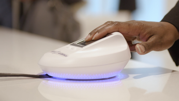 Delta Sky Club members will be able to use fingerprint