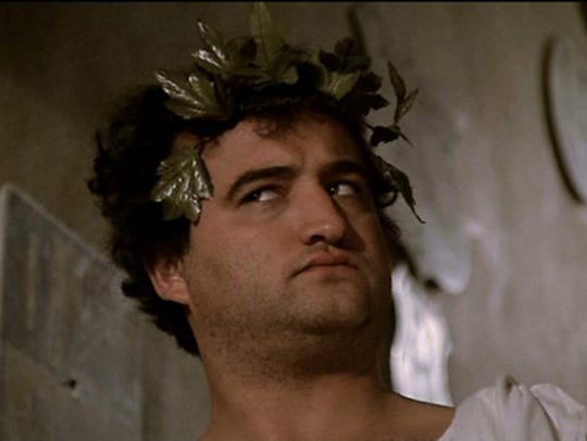 "John Belushi made toga parties famous as John ""Bluto"""