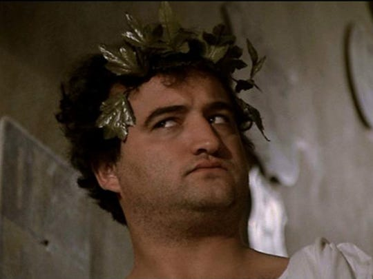 "John Belushi made toga parties famous as John ""Bluto"""