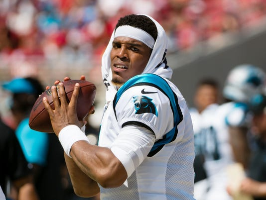 USP NFL: CAROLINA PANTHERS AT SAN FRANCISCO 49ERS S FBN SF CAR USA CA