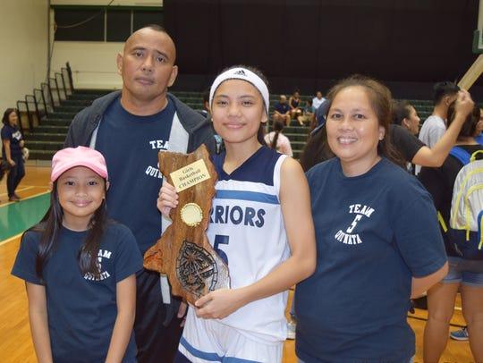 St. Paul Christian Warriors junior guard Isla Quinata