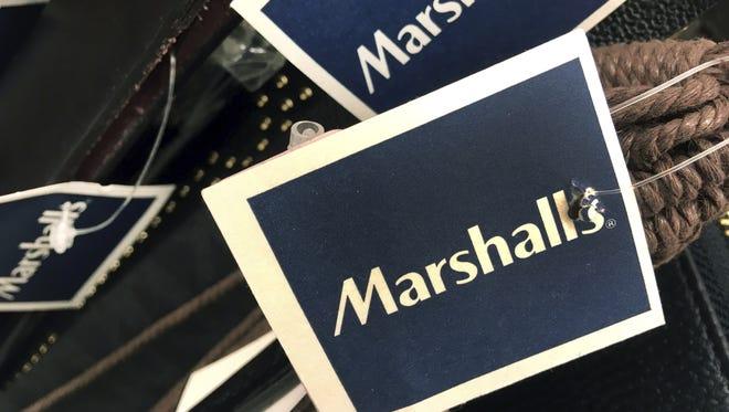Marshalls tags.