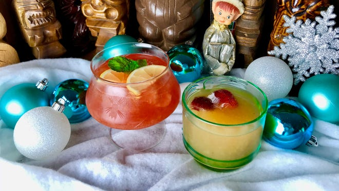 Make Rum Holiday Cocktail or Straw Hat Barman Punch ahead of time so you can enjoy the party as much as your guests.