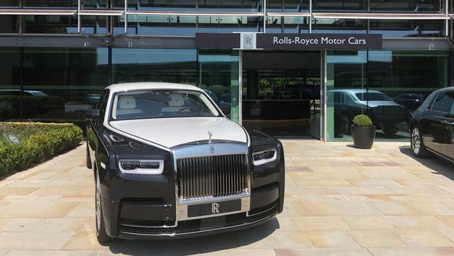 The Rolls-Royce factory in Goodwood, England.