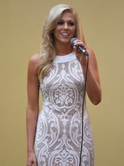 Miss Tipton County Madison Butler -- The Jackson Exchange Club hosted Miss Tennessee 2016 Grace Burgess and the 2017 Miss Tennessee Scholarship Pageant contestants to a luncheon, Tuesday, June 20.