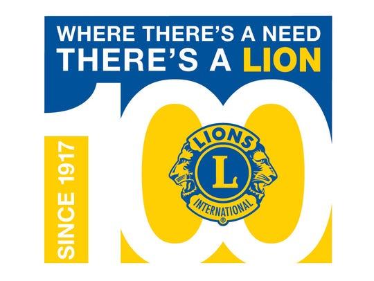 Lions Club International Centennial Celebration logo