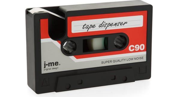 J-me's Cassette Tape Dispenser ($23 at Overstock.com).