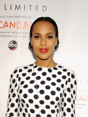 Kerry Washington is seen Feb. 3 at The Limited Collection Inspired by Scandal Spring Shopping Event in Glendale, Calif.