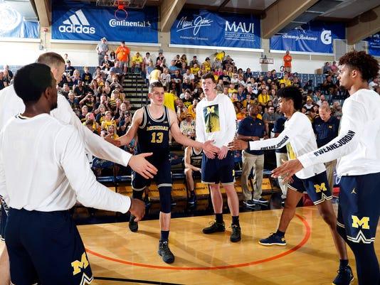 NCAA Basketball: Maui Invitational-Michigan at Chaminade