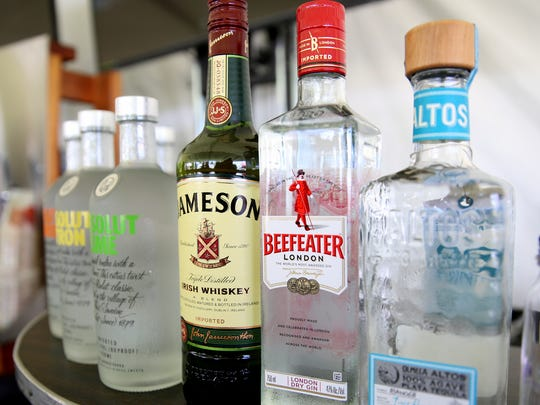 Hard alcohol is available during Cherryfest NW at Riverfront Park in Salem on Saturday, July 7, 2018. This is the first big event held at a public park since the city's new hard alcohol ordinance has gone into effect.