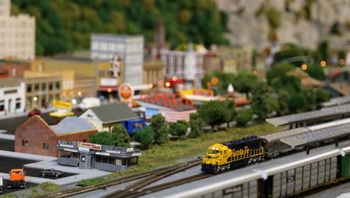 Miniature World of Trains
