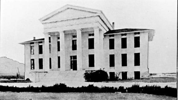 UTEP ADMIN BUILDING PRIOR TO 1916
