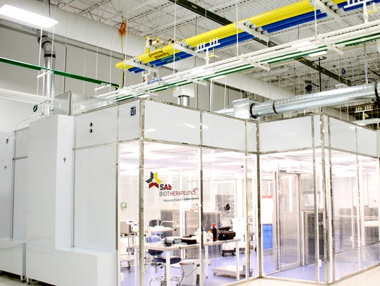 """A """"clean room"""" at SAB Biotherapeutics allows for research"""
