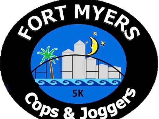 Cops & Joggers 5K logo