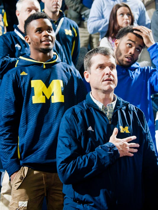 Brian Cole, Jim Harbaugh