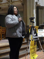 "Beverly Walker, whose husband, Baron, is serving time at Fox Lake Correctional Institution, told a Madison gathering organized by the faith-based advocacy group Wisdom in February that she has heard ""horror stories"" from inmates about the water. She said her husband buys bottled water from the prison canteen at Fox Lake."