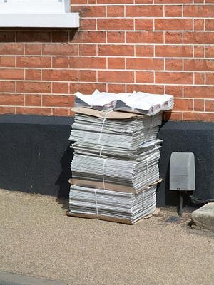 Some subscribers want their paper left under the doormat. Others like it on the lawn.