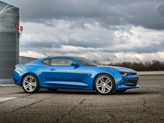 The all-new 2016 Chevrolet Camaro