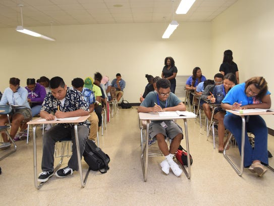 Students from four Rapides Parish high schools take